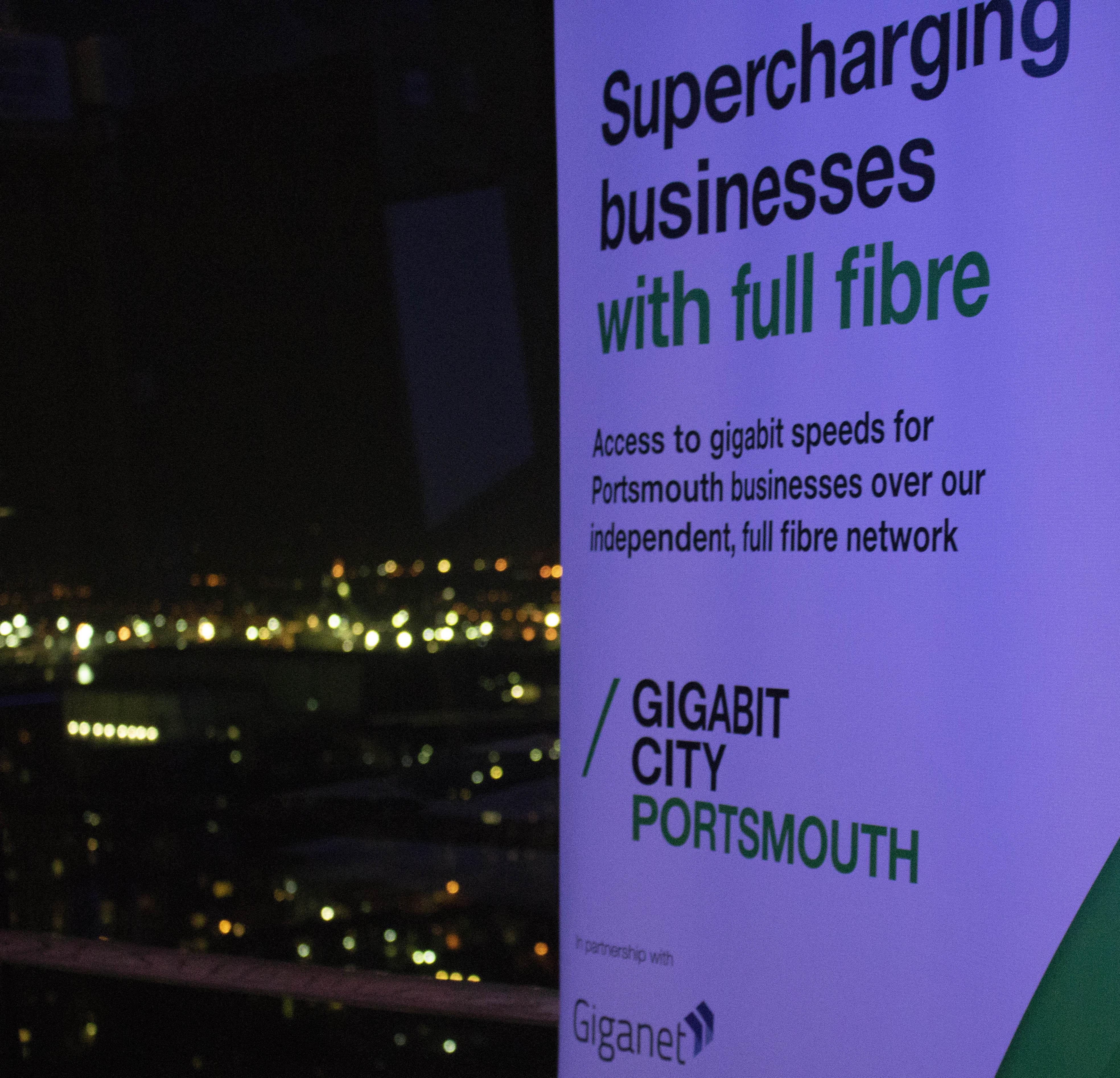 Giganet & CityFibre Light Up Portsmouth - Giganet