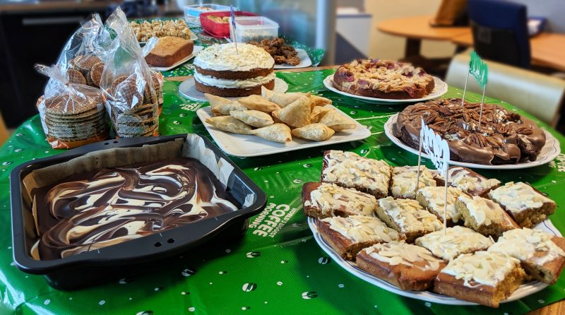 Cakes and Bakes Macmillan Coffee Morning M12 Giganet