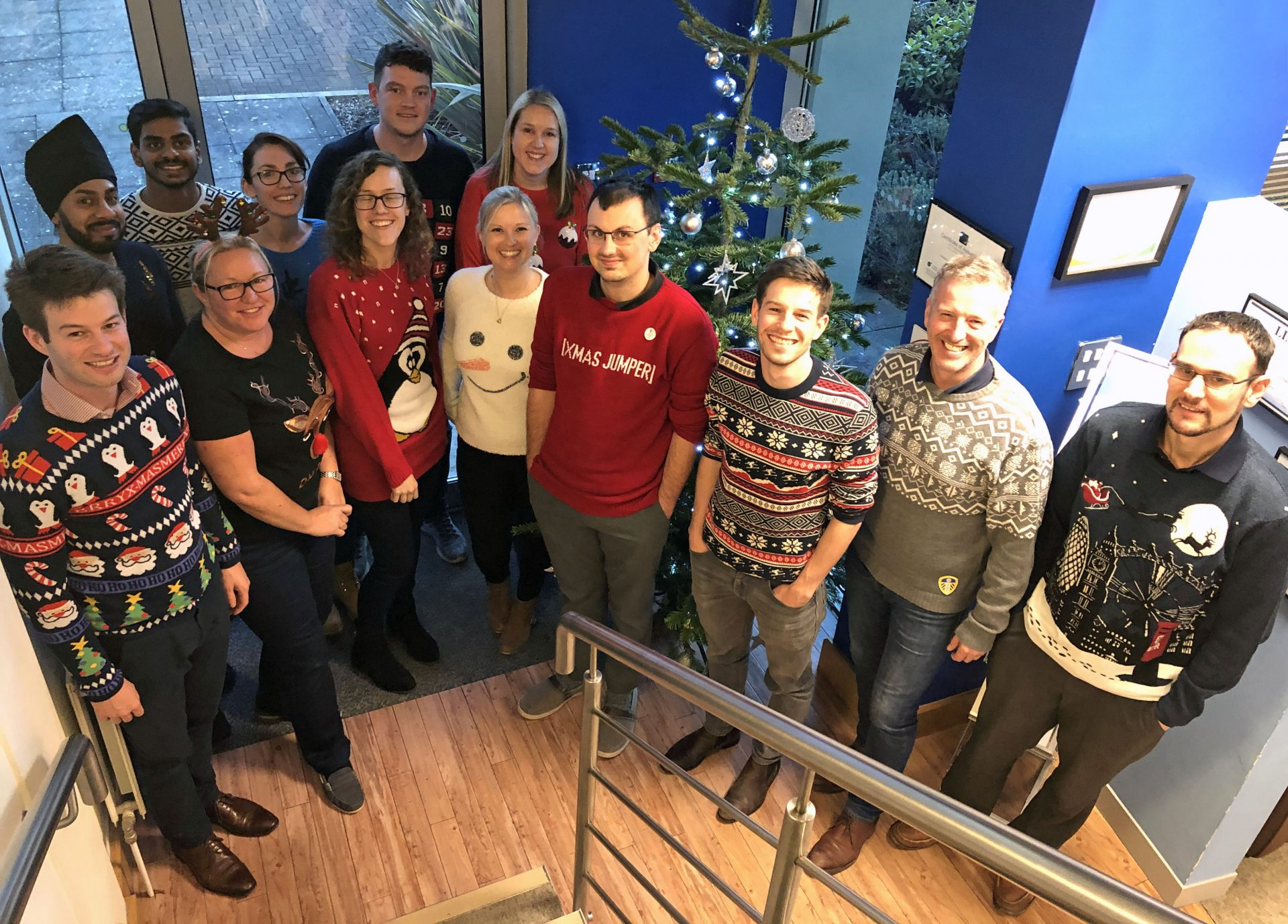 Christmas Jumper Day 2019 M12 Giganet