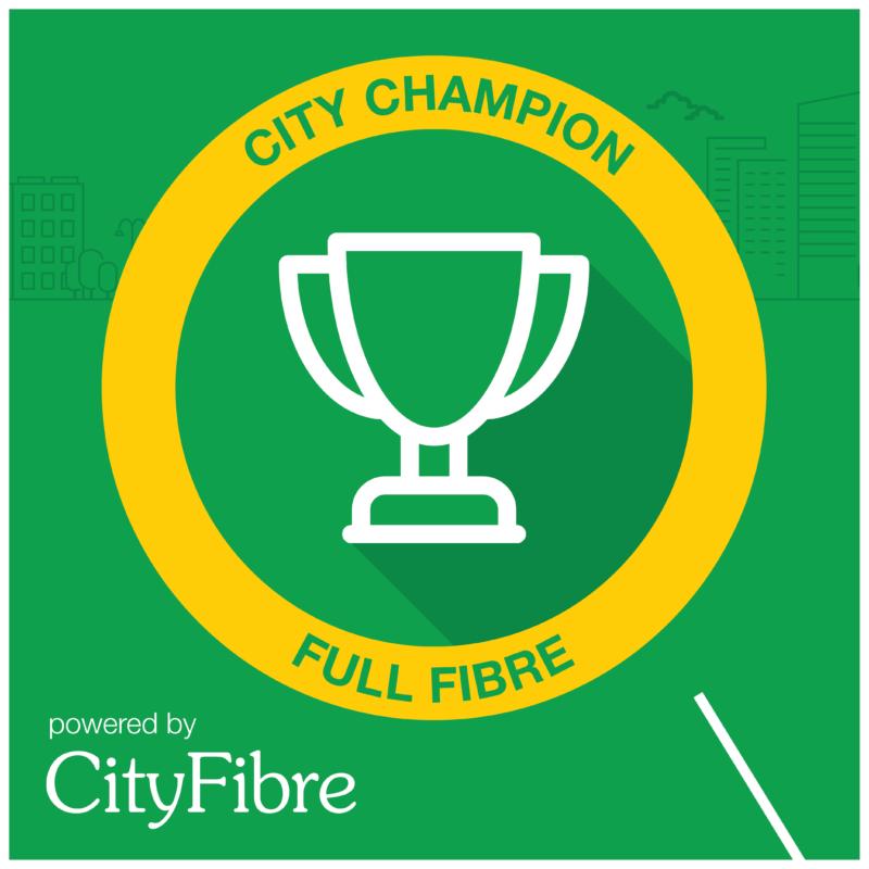 CityFibre Partner City Champion