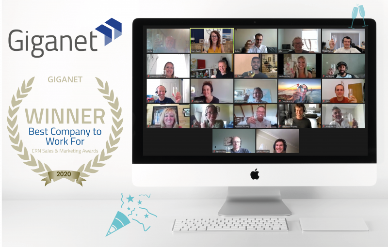 Giganet Best Company to Work For