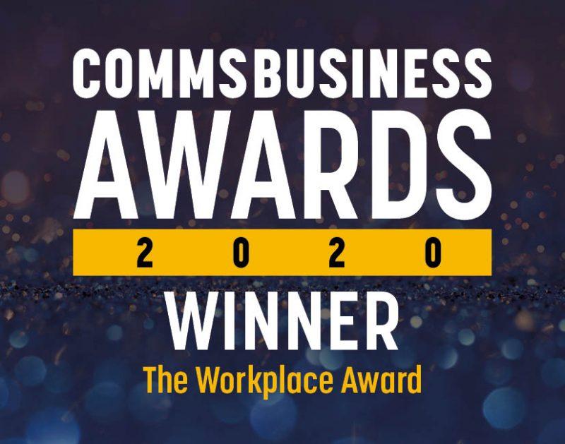 Comms Business Awards Winner